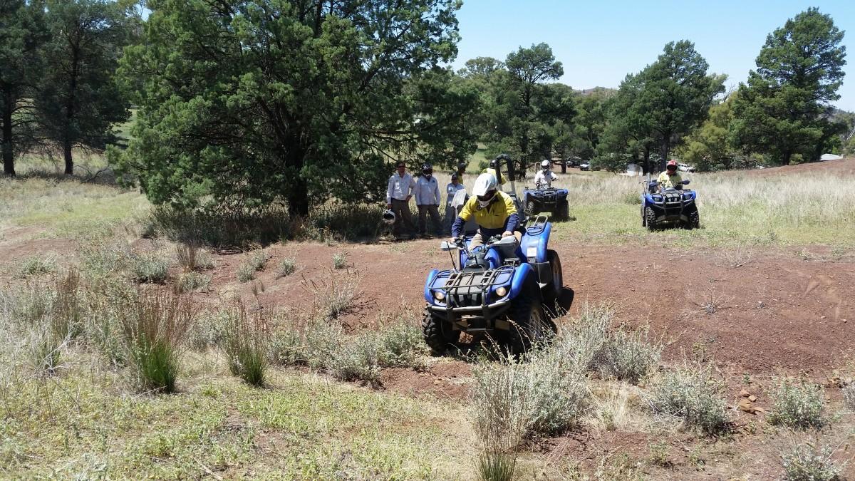 PINDAN 4WD Training - Quad Bike Training