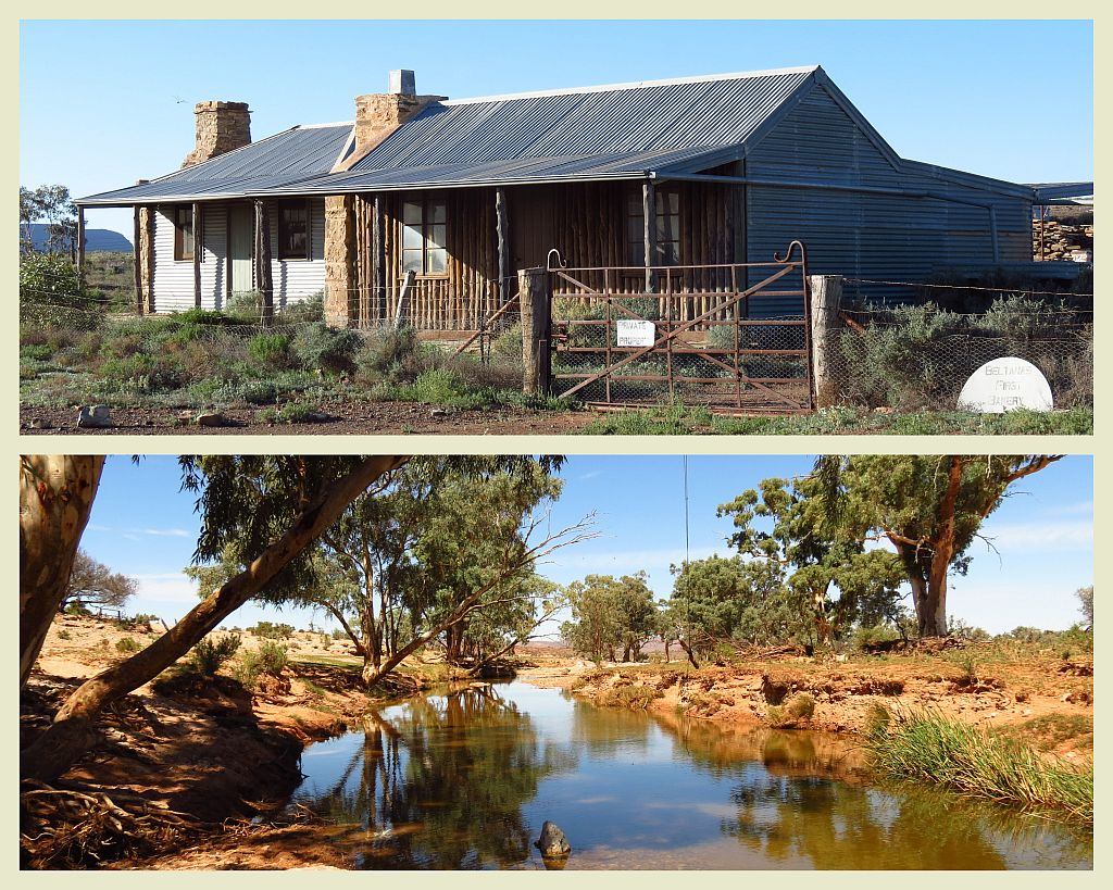 Tag Along Tours Beltana Station Flinders Ranges 4WD Adventures Beltana and Puttapa Springs