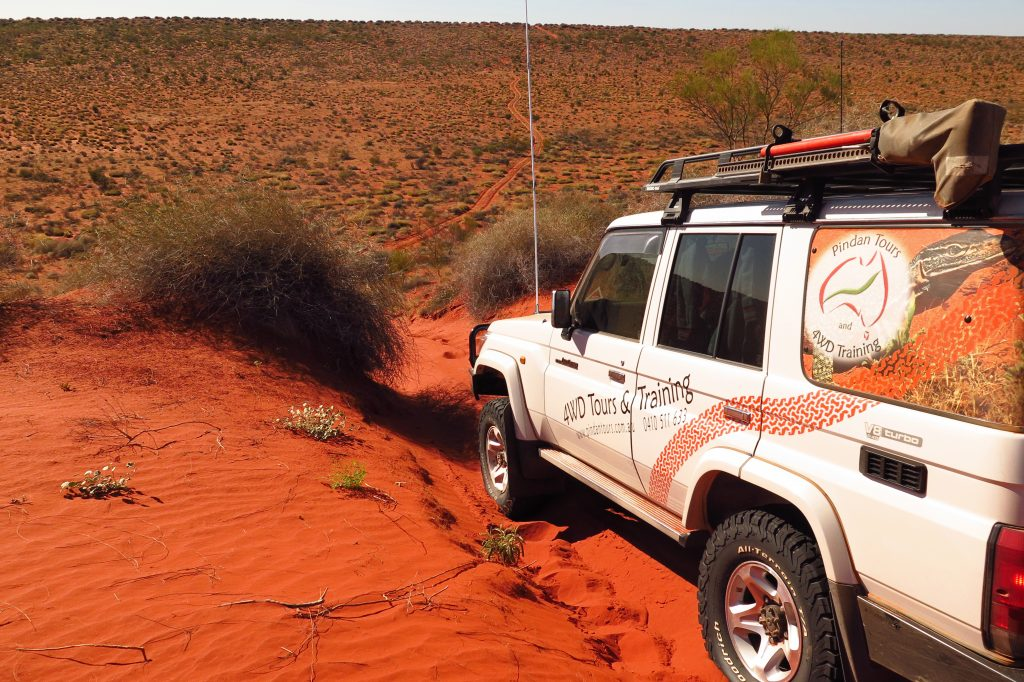 Binns Track - Pindan Tours and 4WD Training