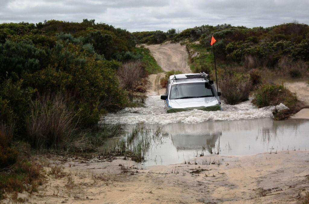 Advanced 4WD Training - Deep water crossings