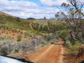 Bendleby Ranges 4wd Tag along Tour