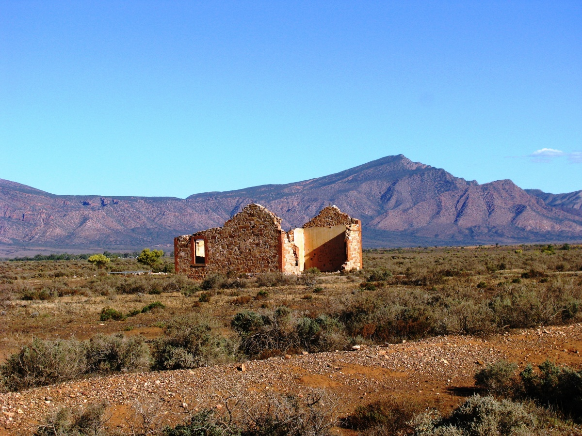PINDAN 4WD Tours, Ghan Ruins in the Flinders Ranges