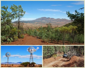 Tag Along Tours Merna Mora Station Flinders Ranges 4WD Adventures