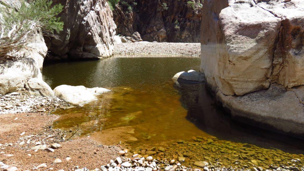 Nooldoonooldoona Waterhole. Pindan Tours and 4WD Training