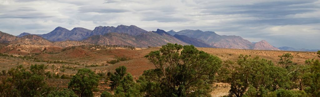 Pindan Tours - Northern View of Wilpena Pound FB