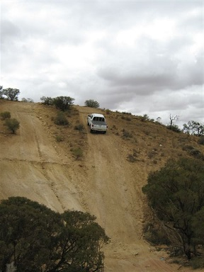 Off Road Driving Steep Climbs