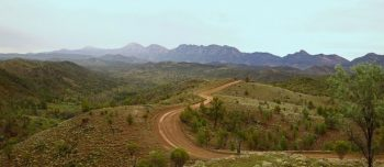 Outback 4WD Razorback Lookout