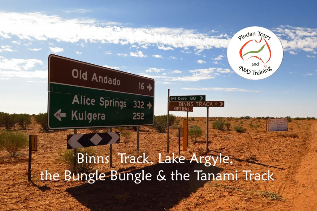 Binns Track a d Lake Argyle - Pindan Tours and 4WD Training
