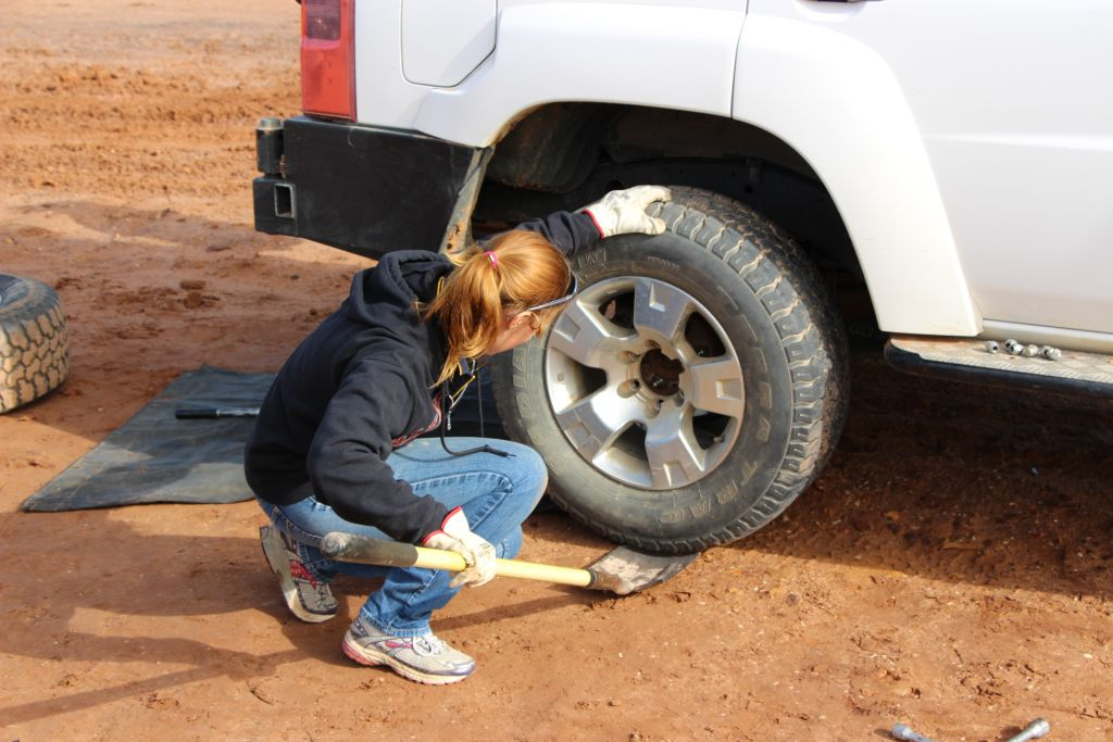 Basic 4WD Training - Wheel Changing